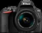 Nikon D5500, AF-P DX 18-55 mm, schwarz