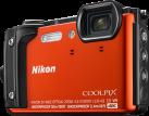 Nikon COOLPIX W300 - Digitale Kompaktkamera - 16 MP - Orange
