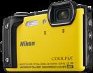Nikon COOLPIX W300 - Digitale Kompaktkamera - 16 MP - Gelb
