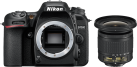 Nikon D7500 Body + AF-P 10-20VR - Fotocamera reflex digitale - 20.9 MP - Nero