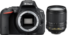 Nikon D5500, 18-105 mm VR Kit, 24.2 MP, schwarz