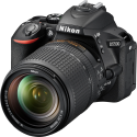 Nikon D5500, 18-140 mm VR Kit, 24.2 MP, schwarz