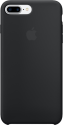 Apple iPhone 7 Plus Silikon Case - Schwarz