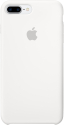 Apple Coque en silicone iPhone 7 Plus - blanc