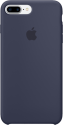 Apple Coque en silicone iPhone 7 Plus - bleu nuit