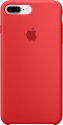 Apple Coque en silicone iPhone 7 Plus - rouge