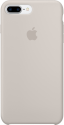 Apple Coque en silicone iPhone 7 Plus - gris