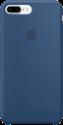 Apple Coque en silicone iPhone 7 Plus - bleu atlantique