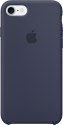 Apple Coque en silicone iPhone 7 - bleu nuit