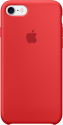 Apple Coque en silicone iPhone 7 - rouge