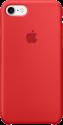 Apple iPhone 7 Silikon Case - Rot