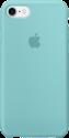 Apple iPhone 7 Silikon Case - Meerblau