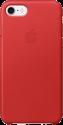 Apple Custodia in pelle per iPhone 7 - rosso