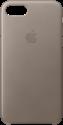 Apple iPhone 7 Leder Case - Beige