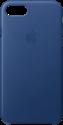 Apple iPhone 7 Leder Case - Dunkelblau