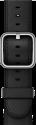 Apple 42 mm Klassisches Lederarmband - Schwarz