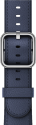 Apple 42 mm Klassisches Lederarmband - Dunkelblau