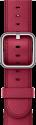 Apple 42 mm Klassisches Lederarmband - Rotwein
