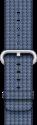 Apple Bracelet en nylon tissé 38 mm - Bleu foncé