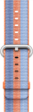 Apple 42 mm Armband aus gewebtem Nylon - Orange