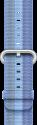 Apple 42 mm Armband aus gewebtem Nylon - Blau