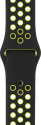Apple Bracelet Sport Nike 38 mm - Noir/Jaune