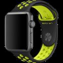Apple 42 mm Nike - Sportarmband - Apple Watch - Schwarz/Gelb