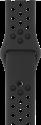 Apple 42 mm Nike Sportarmband - Anthrazit/Schwarz