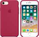 Apple Silikon Case - per iPhone 7/8 - Rose Rosso