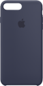 Apple Custodia in silicone - Per iPhone 8 Plus / 7 Plus - Blu notte