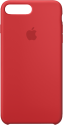 Apple Custodia in silicone - Per iPhone 8 Plus / 7 Plus - Rosso