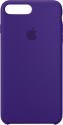 Apple Custodia in silicone - Per iPhone 8 Plus / 7 Plus - Viola scuro