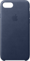 Apple Custodia in pelle - Per iPhone 7/8 - Blu notte