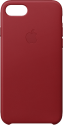 Apple Custodia in pelle - Per iPhone 7/8 - Rosso