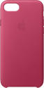 Apple Custodia in pelle - Per iPhone 7/8 - Fucsia