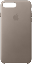 Apple Leather Case - Per Apple iPhone 7/8 Plus - Grigio talpa