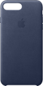 Apple Leather Case - Per Apple iPhone 7/8 Plus - Blu notte