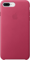 Apple Leather Case - Per Apple iPhone 7/8 Plus - Fucsia