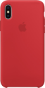 Apple Silikon Case - Rouge