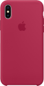 Apple Silikon Case - Rose rouge