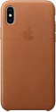 Apple Leather Case - Für iPhone X - Sattelbraun