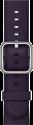Apple Klassisches Lederarmband - Grösse 42 mm - Dunkelaubergine