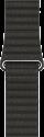 Apple 42 mm Lederarmband mit Schlaufe - Grösse Medium - Anthrazit
