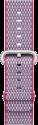 Apple Bracelet en nylon tissé - Taille 38 mm - Fruits rouges (quadrillé)