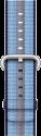 Apple Armband aus gewebtem Nylon - Grösse 42 mm - Mitternachtsblau (gestreift)