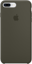 Apple Custodia in silicone - Per iPhone 8 Plus / 7 Plus - Oliva scura