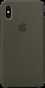 Apple Silikon Case - Dunkeloliv
