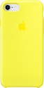 Apple Custodia in silicone per iPhone 8 / 7 - Giallo