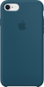 Apple Custodia in silicone per iPhone 8 / 7 - Blu cosmo