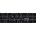 Apple Magic Keyboard mit Ziffernblock - Tastatur - CH Layout - Space Grau